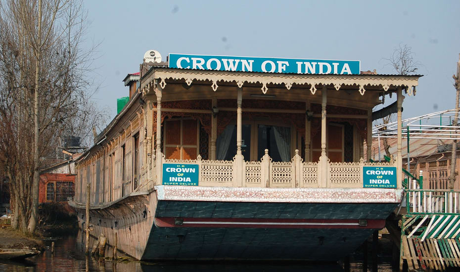 Crown Of India Houseboat Srinagar