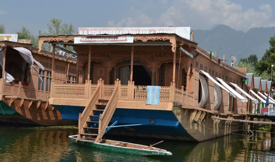 New Maharaja Palace Group Of Houseboat Srinagar