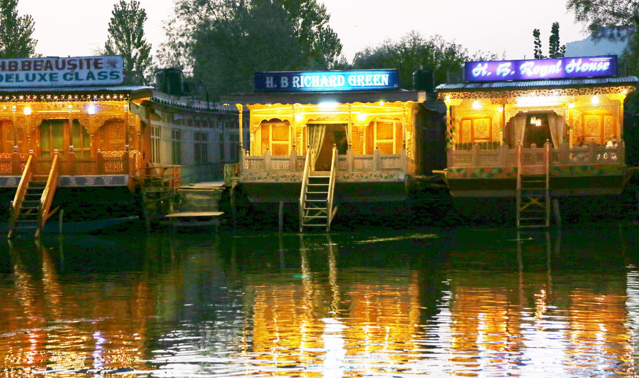 Richard Green Houseboat Srinagar
