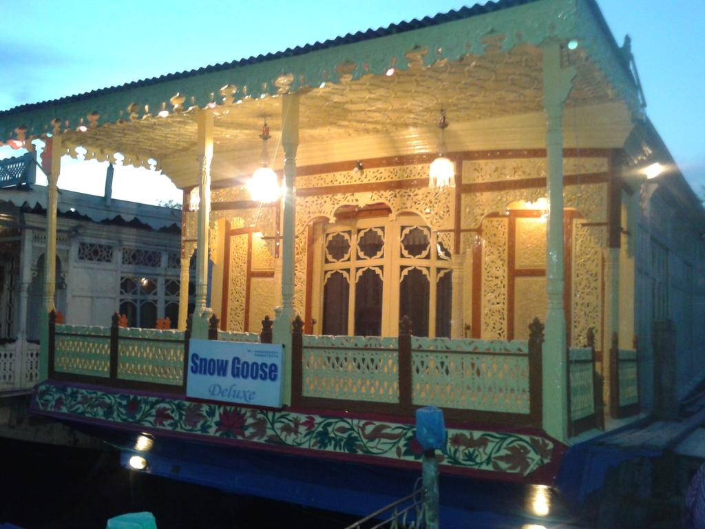 Snowgoose Houseboat Srinagar