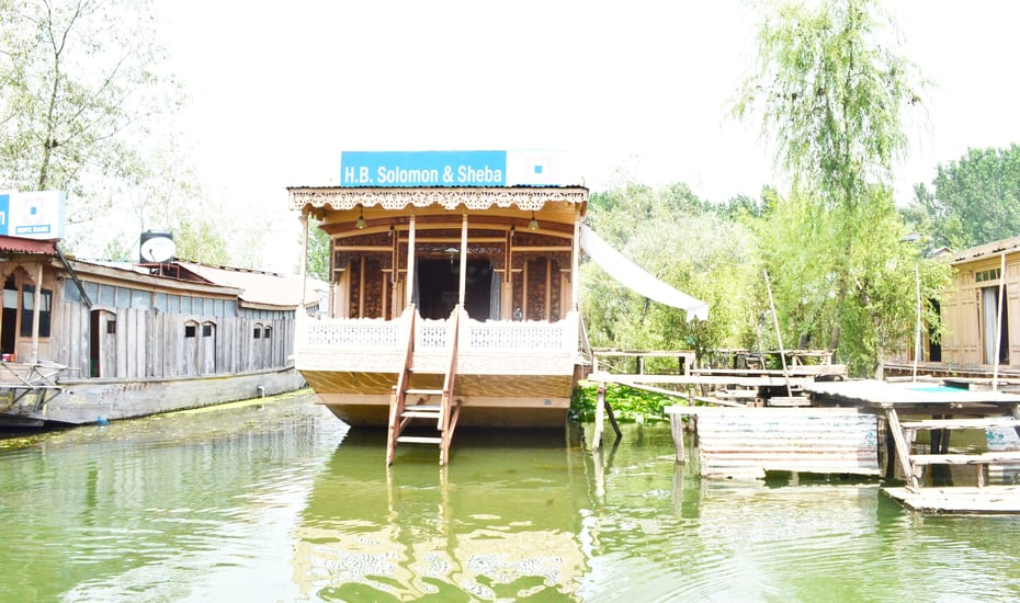 Solomon And Sheba Houseboat Srinagar